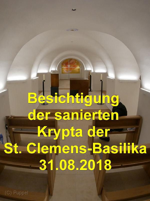 2018/20180831 St Clemens-Basilika Besichtigung Krypta/index.html