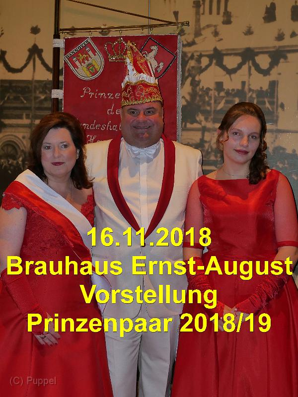 2018/20181116 Brauhaus Ernst-August Vorstellung Prinzenpaar/index.html